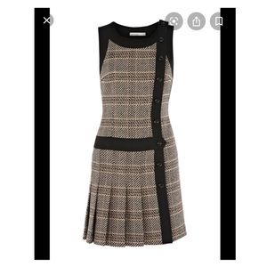 New with tag! Karen Millen statement check dress